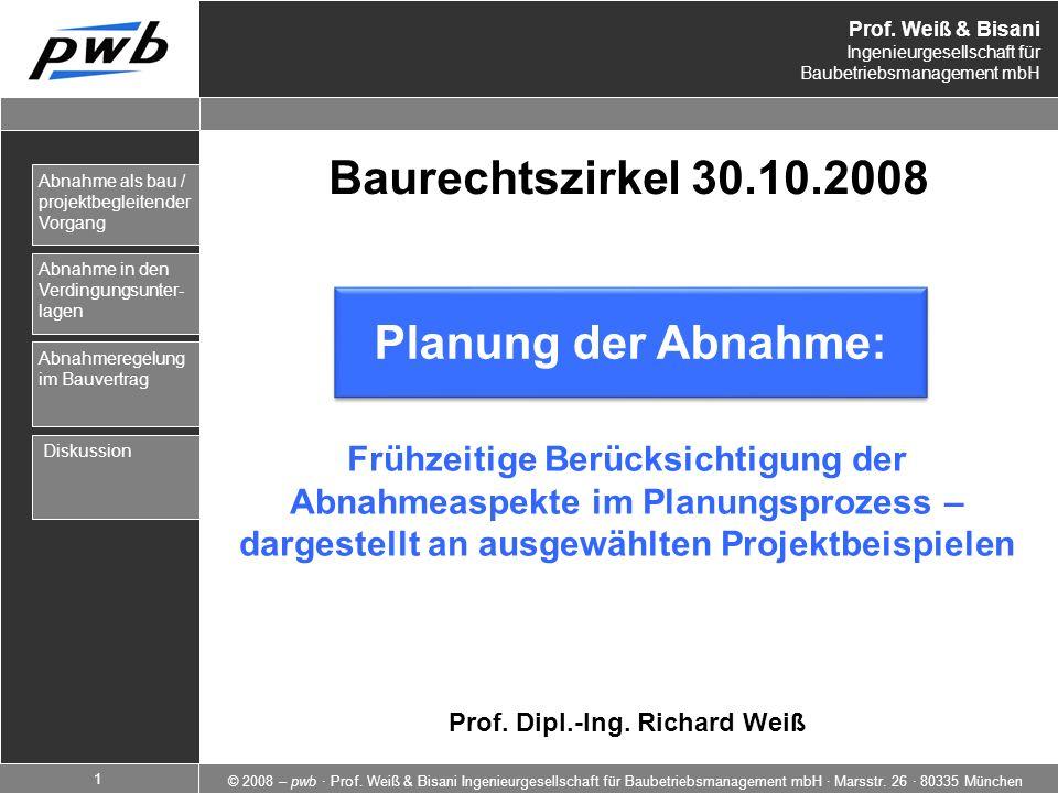 Prof. Dipl.-Ing. Richard Weiß