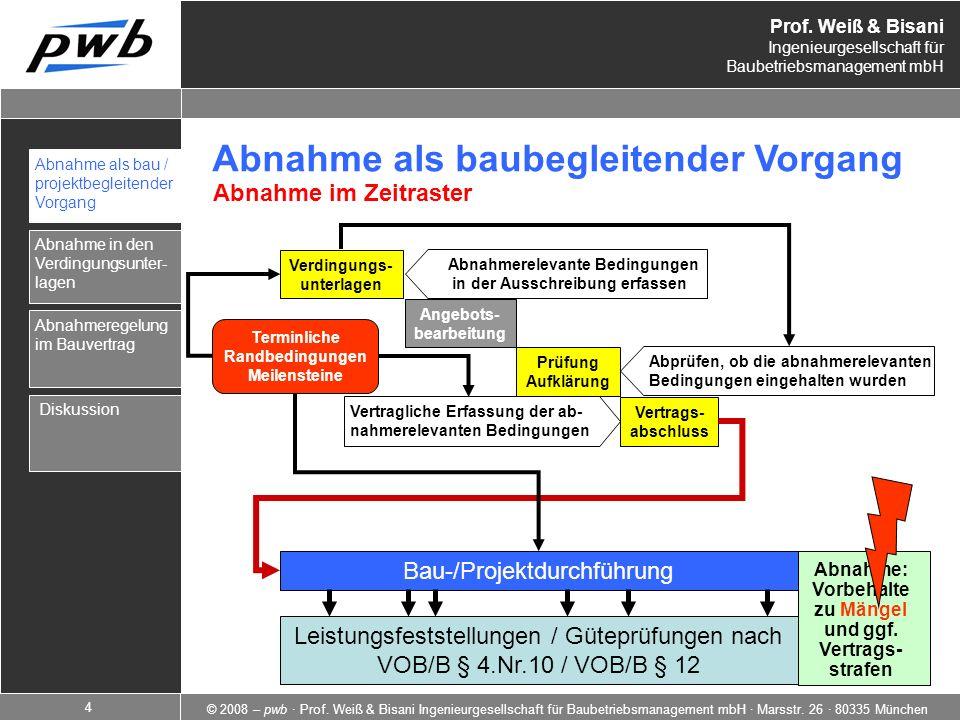 Bau-/Projektdurchführung