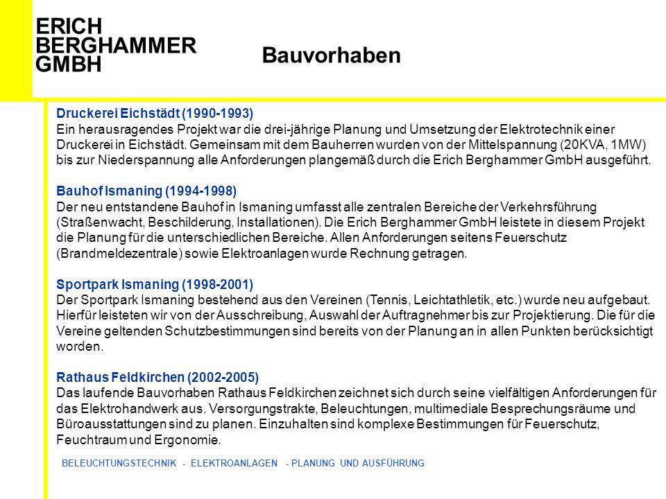 Bauvorhaben Druckerei Eichstädt (1990-1993)