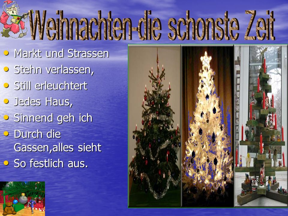 Weihnachten-die schonste Zeit