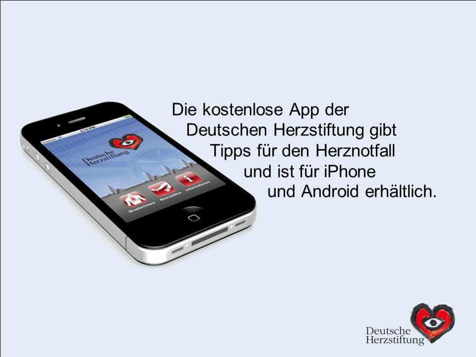 Deutschen Herzstiftung gibt Tipps für den Herznotfall