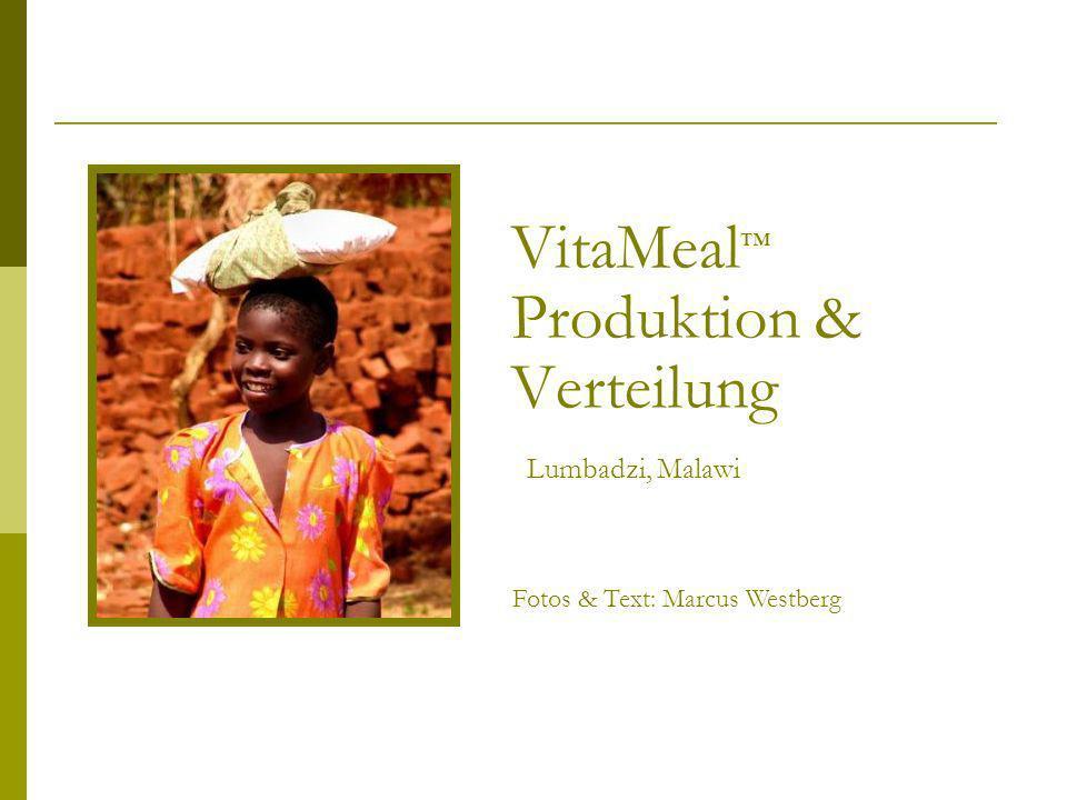 VitaMeal™ Produktion & Verteilung Lumbadzi, Malawi