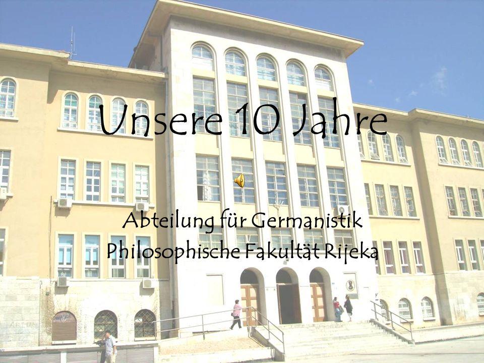 Abteilung für Germanistik Philosophische Fakultät Rijeka