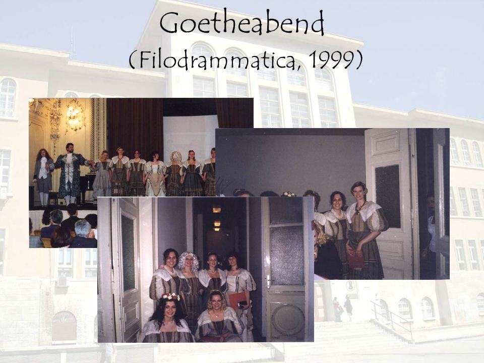 Goetheabend (Filodrammatica, 1999)