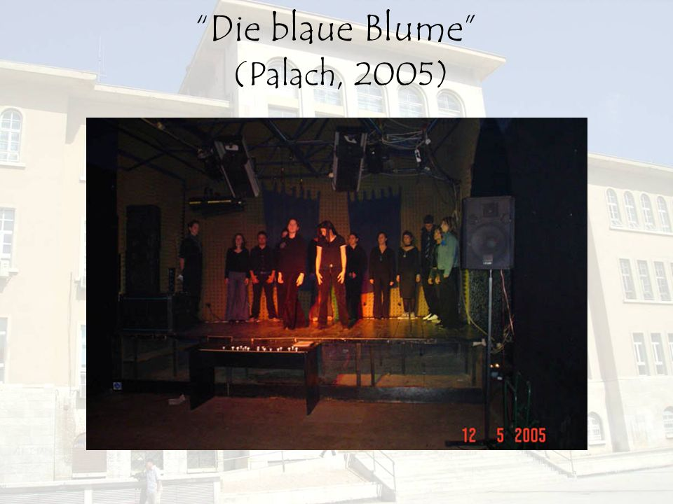 Die blaue Blume (Palach, 2005)