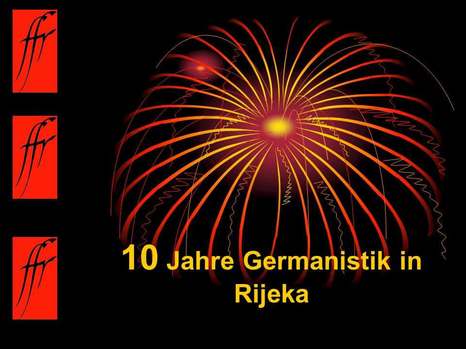 10 Jahre Germanistik in Rijeka
