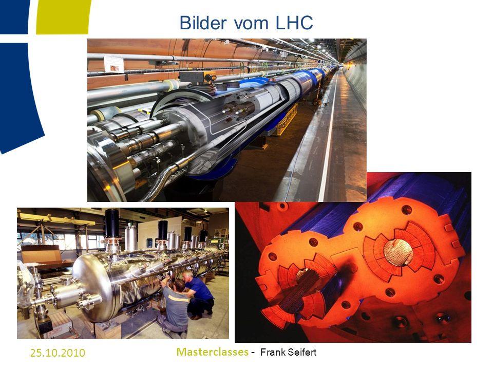 Bilder vom LHC 25.10.2010 Masterclasses - Frank Seifert