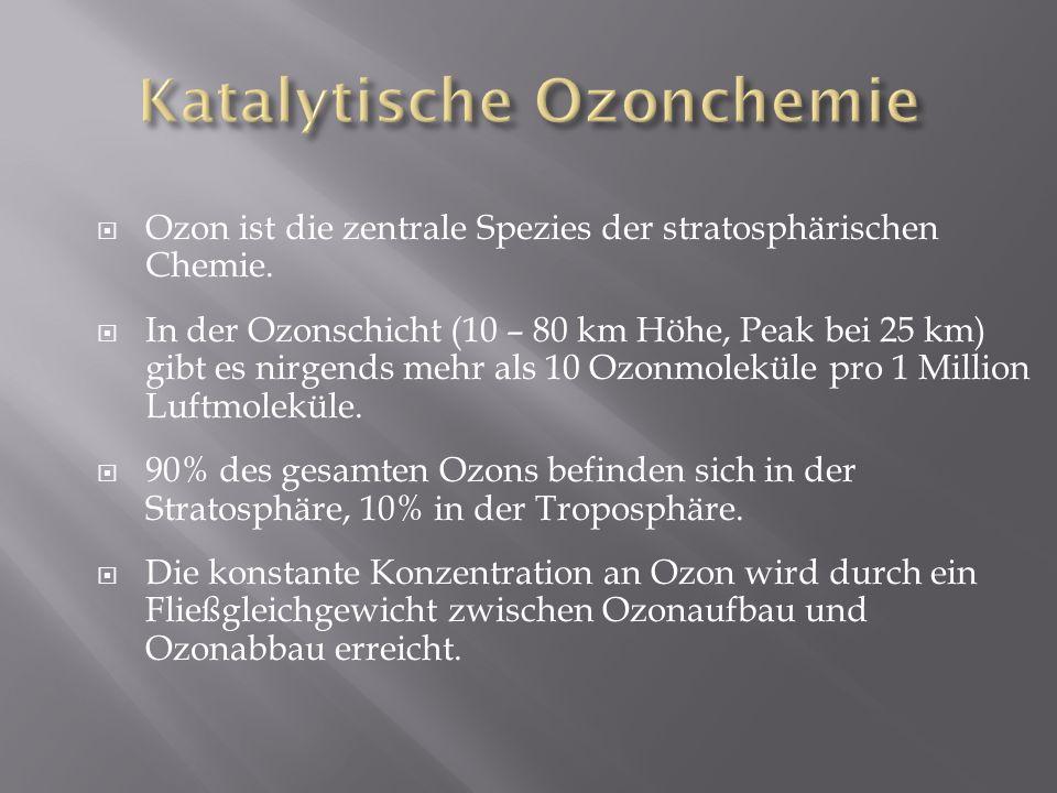 Katalytische Ozonchemie