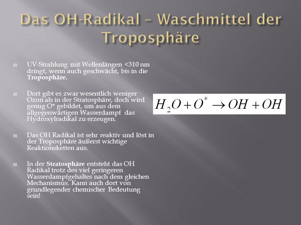 Das OH-Radikal – Waschmittel der Troposphäre