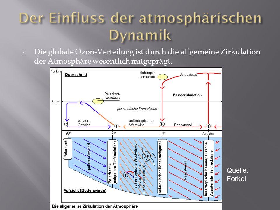 Der Einfluss der atmosphärischen Dynamik