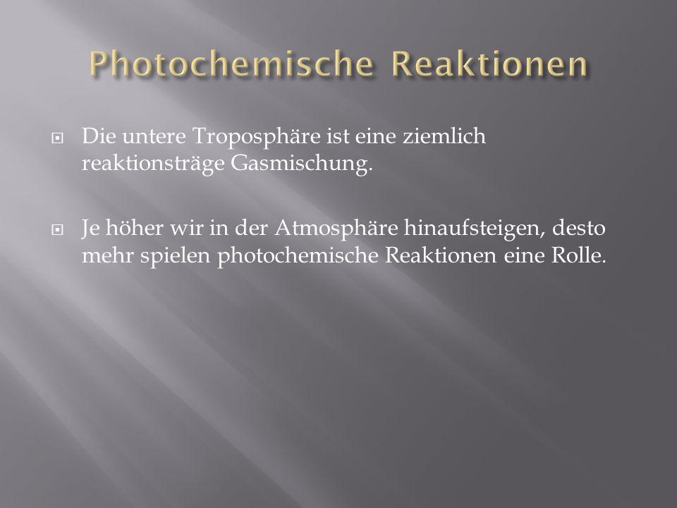 Photochemische Reaktionen