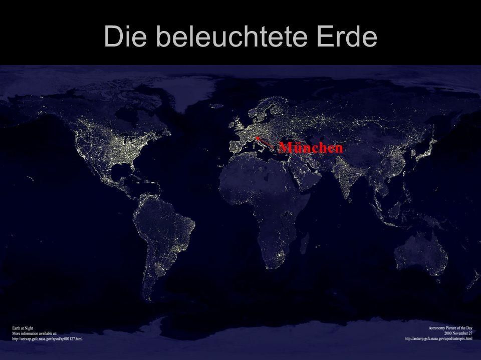 Die beleuchtete Erde München