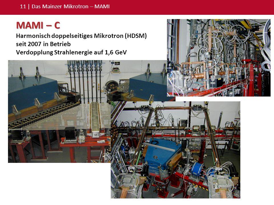 11 | Das Mainzer Mikrotron – MAMI