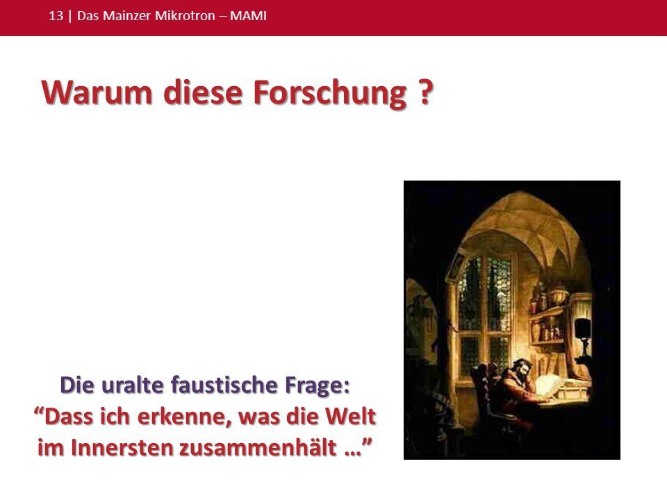13 | Das Mainzer Mikrotron – MAMI