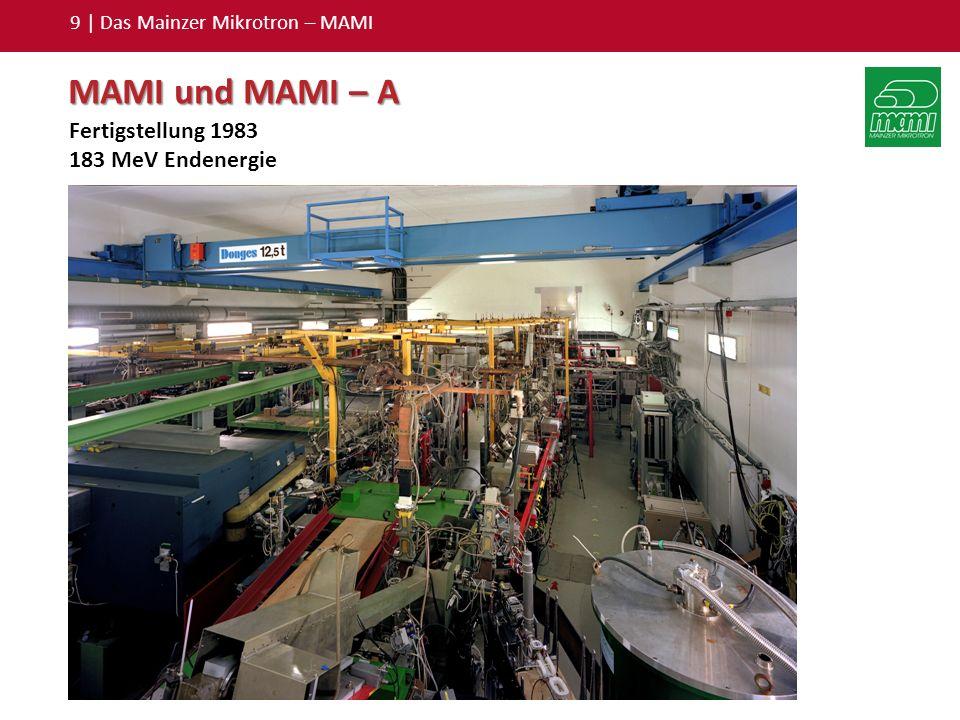 9 | Das Mainzer Mikrotron – MAMI