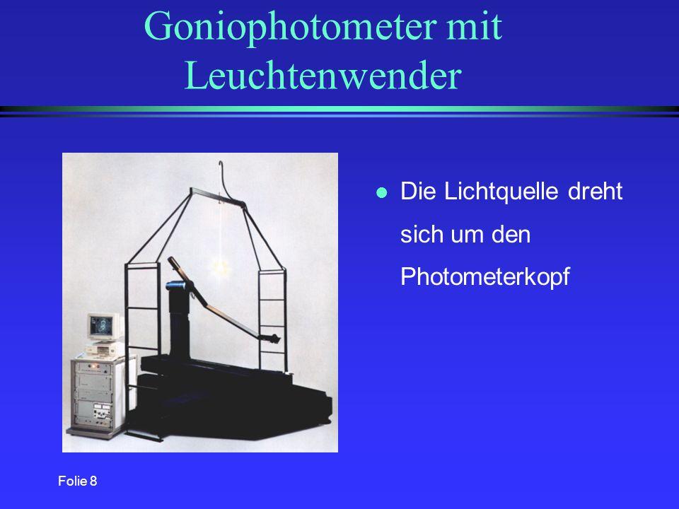 Goniophotometer mit Leuchtenwender