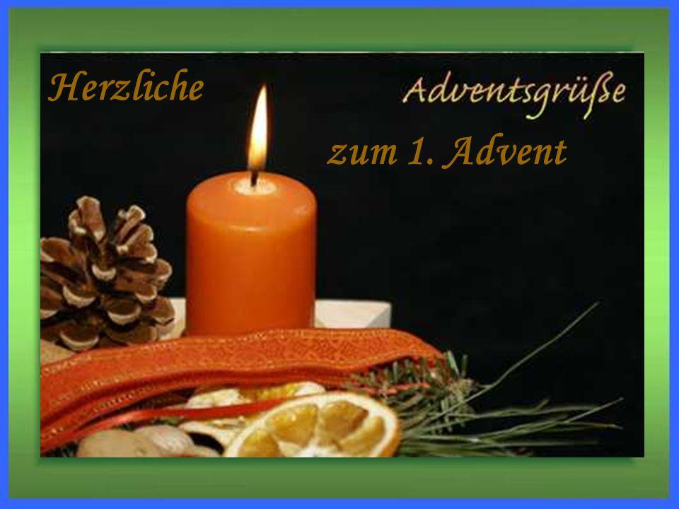Herzliche zum 1. Advent