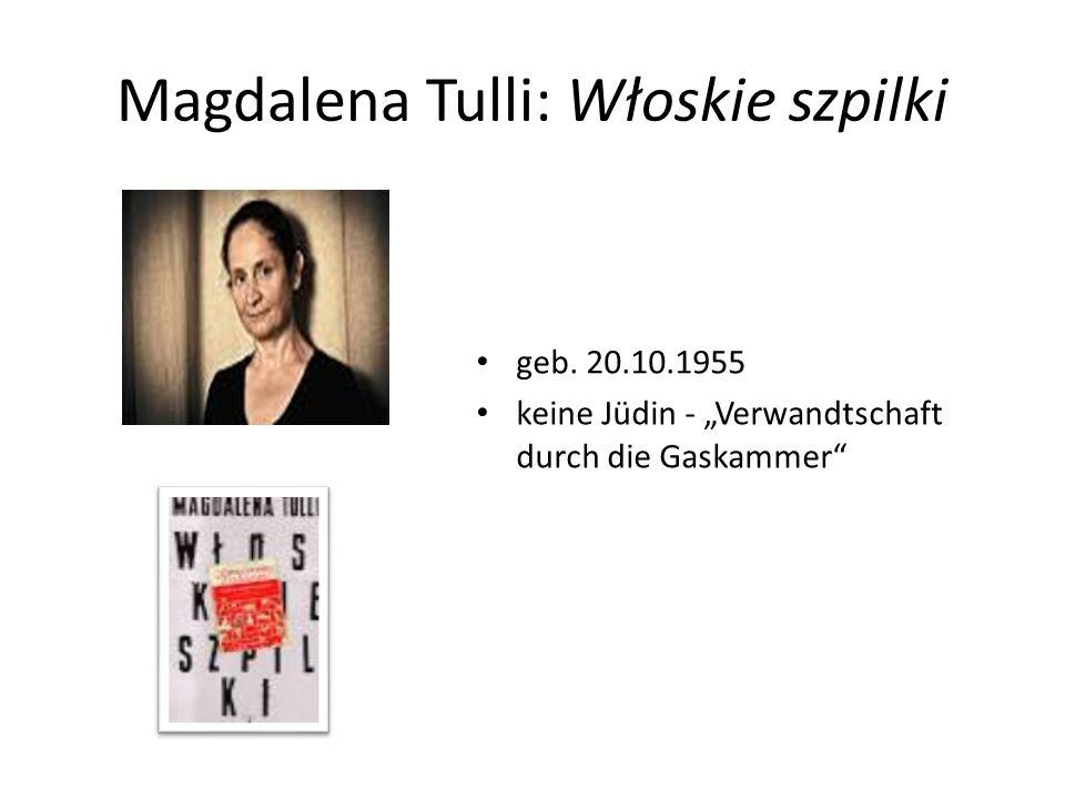 Magdalena Tulli: Włoskie szpilki