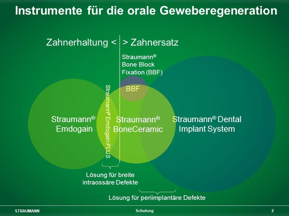 Instrumente für die orale Geweberegeneration