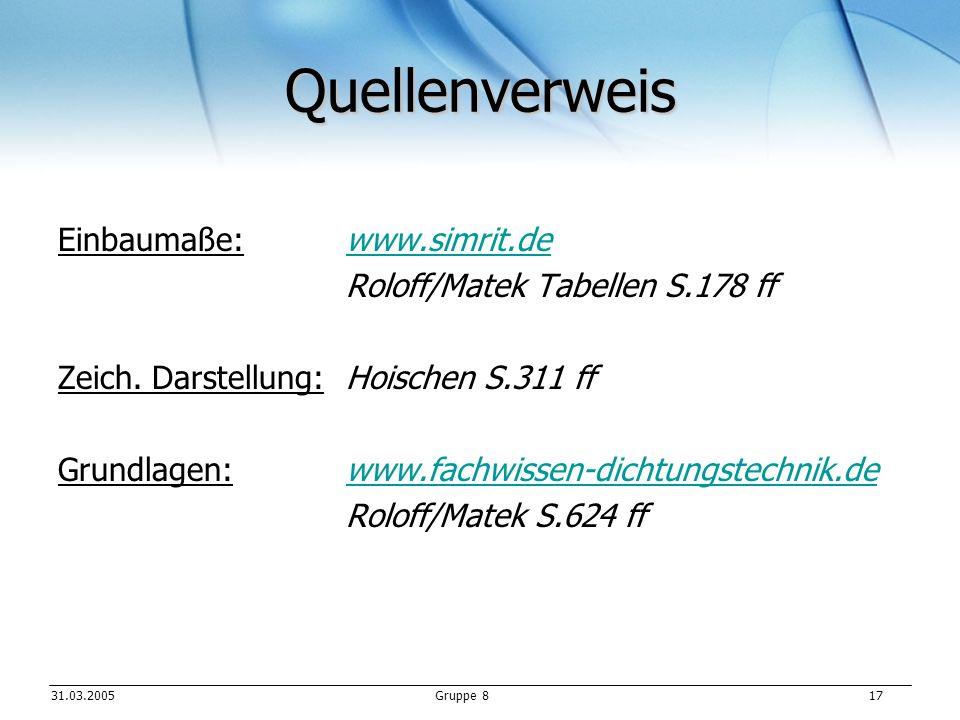 Quellenverweis Einbaumaße: www.simrit.de