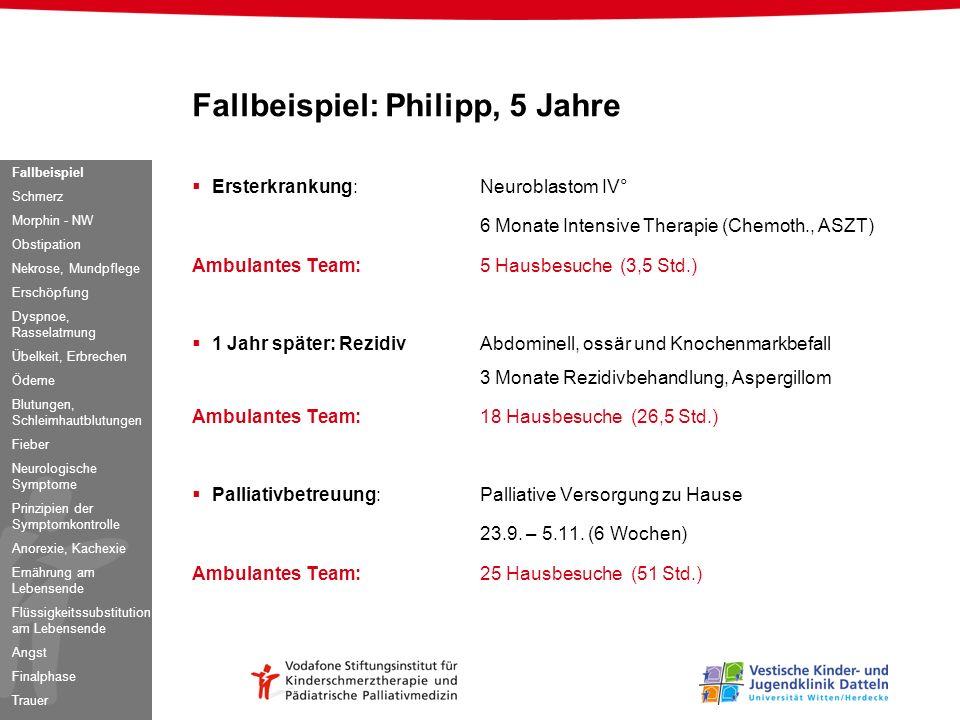 Fallbeispiel: Philipp, 5 Jahre
