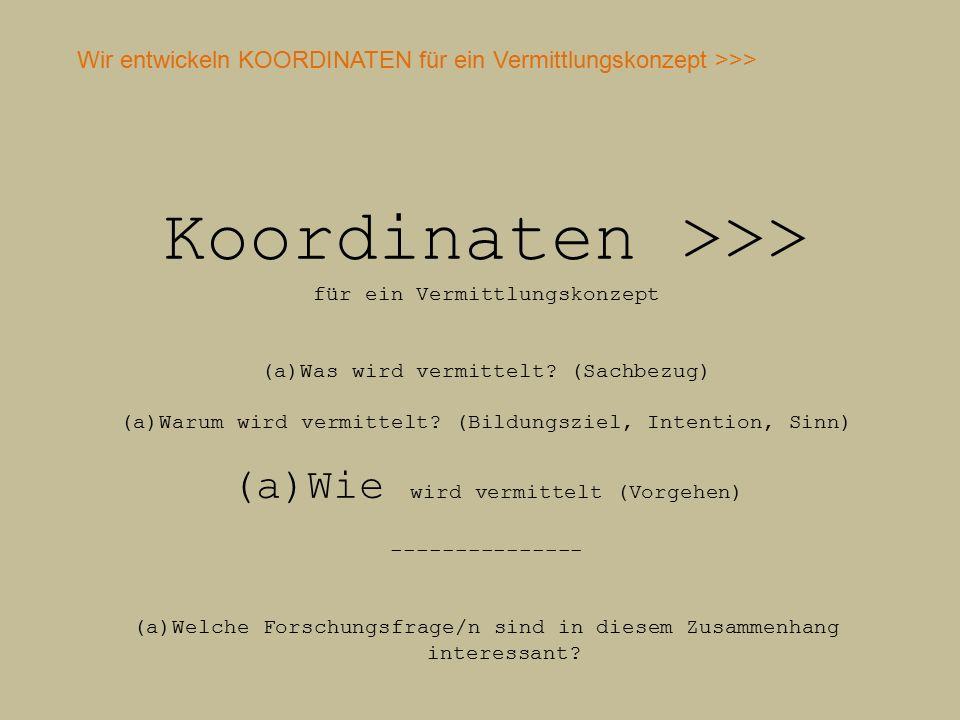 Koordinaten >>>