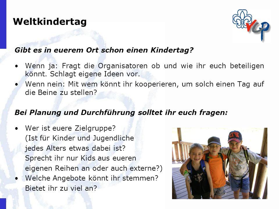 Weltkindertag Gibt es in euerem Ort schon einen Kindertag