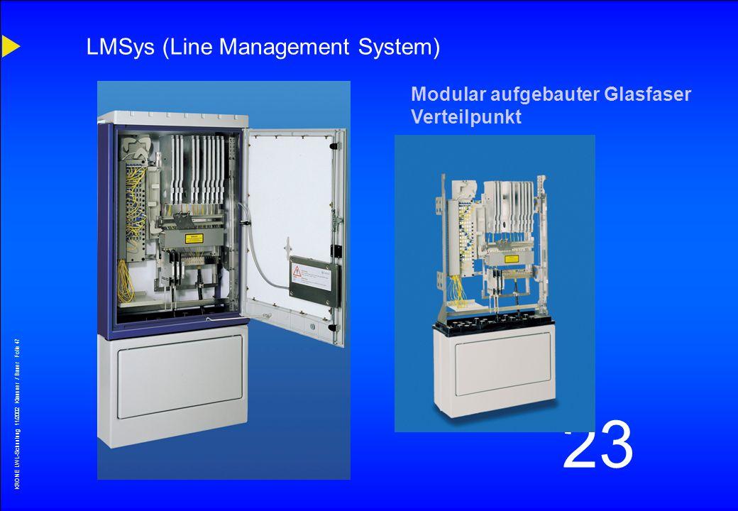 LMSys (Line Management System)