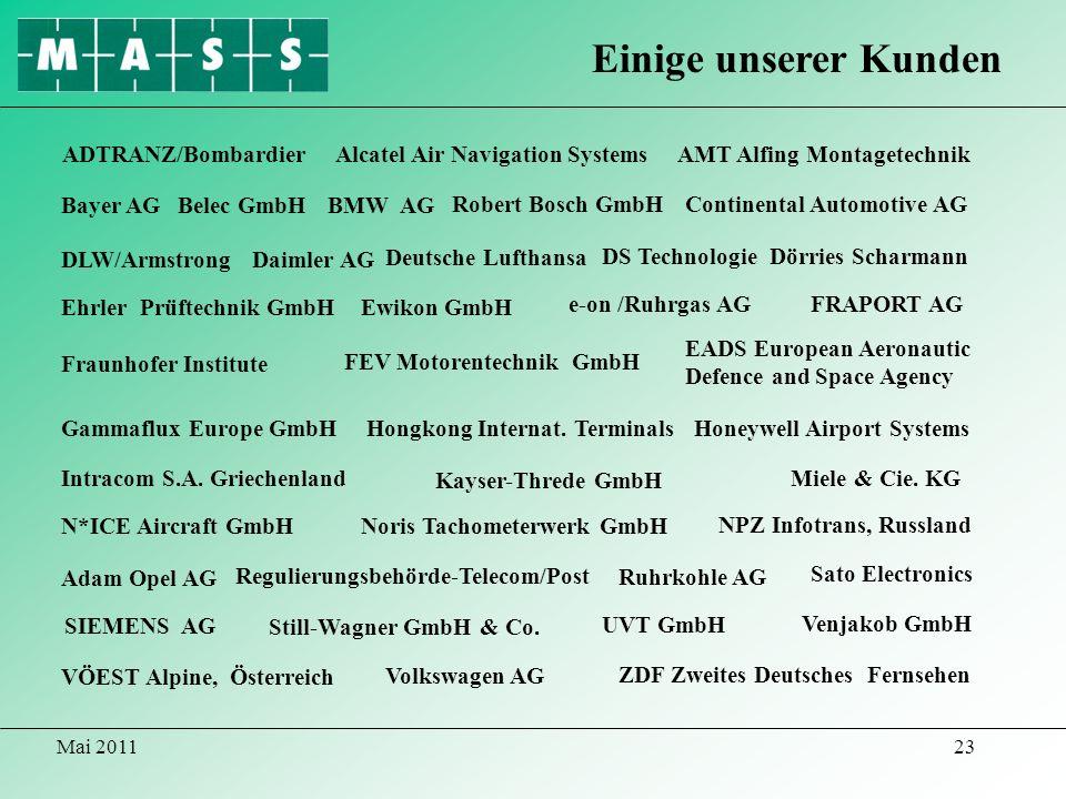 Einige unserer Kunden ADTRANZ/Bombardier