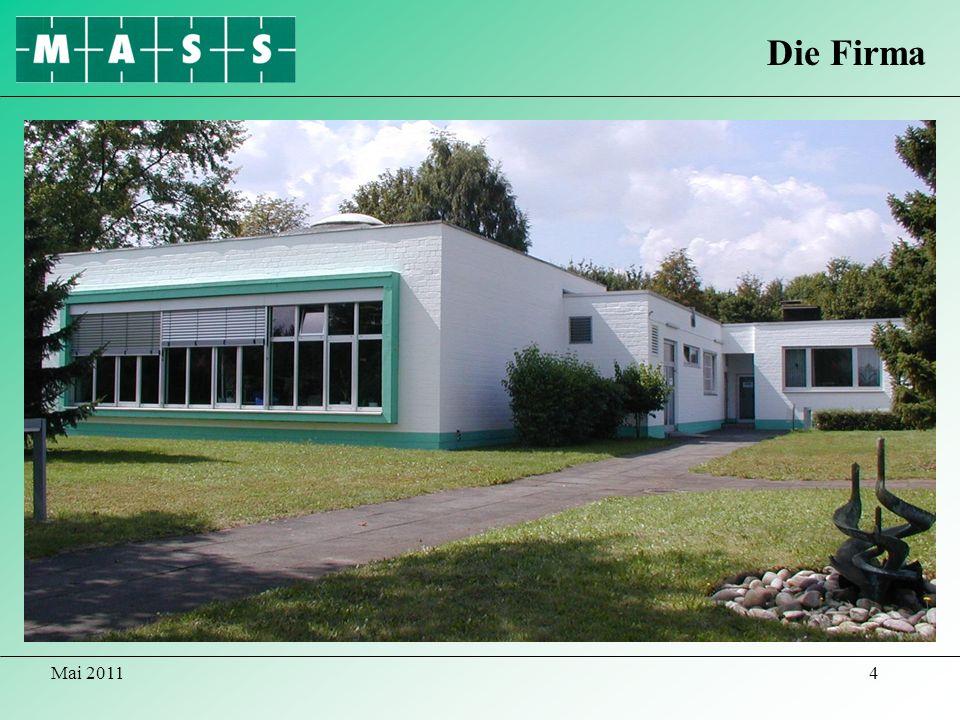 Die Firma Gebäudeansicht Mai 2011