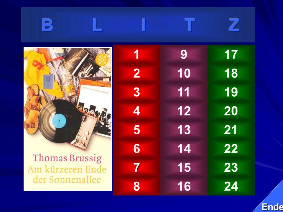B L I T Z 1. 9. 17. 2. 10. 18. 3. 11. 19. 4. 12. 20. 5. 13.