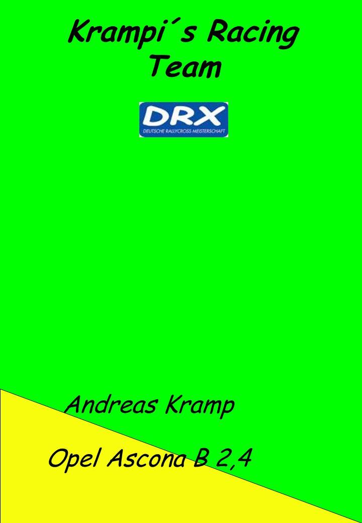 Krampi´s Racing Team Andreas Kramp Opel Ascona B 2,4