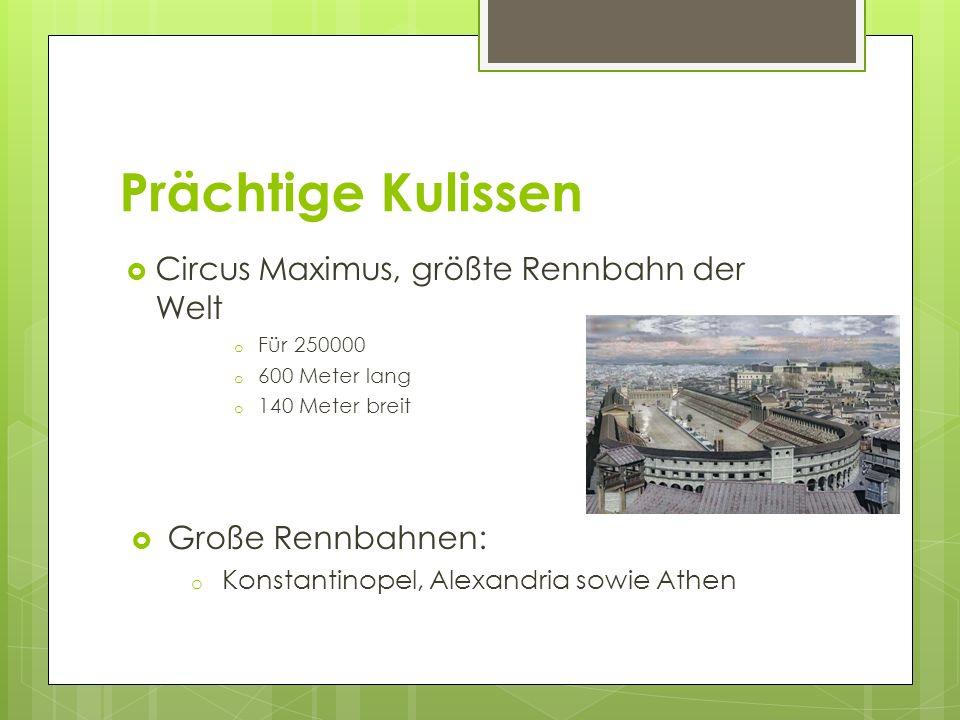 Prächtige Kulissen Circus Maximus, größte Rennbahn der Welt
