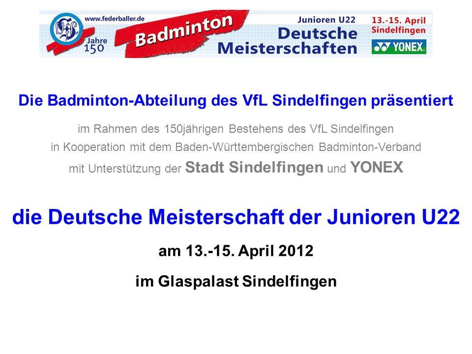 die Deutsche Meisterschaft der Junioren U22