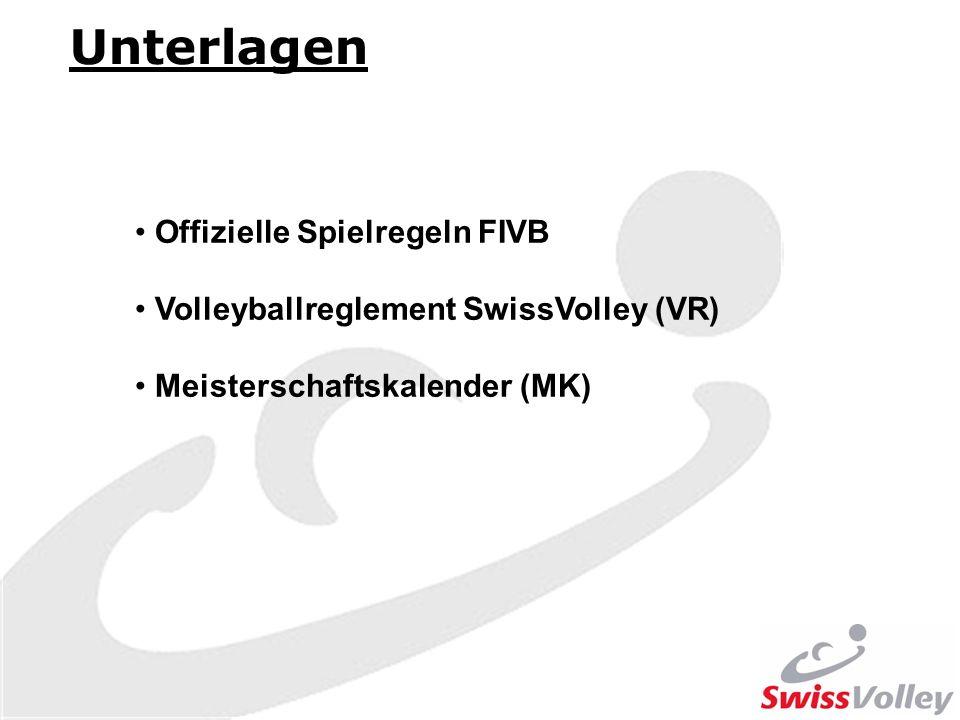 Unterlagen Offizielle Spielregeln FIVB