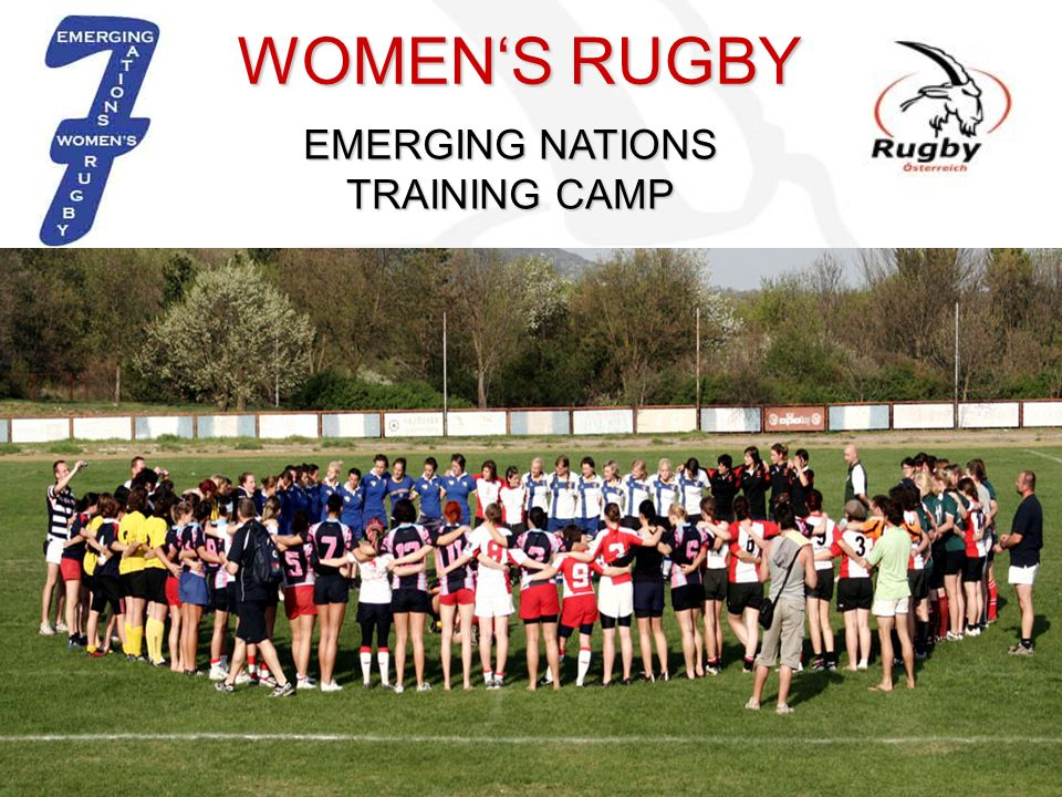 EMERGING NATIONS TRAINING CAMP