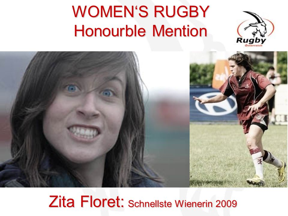 WOMEN'S RUGBY Honourble Mention