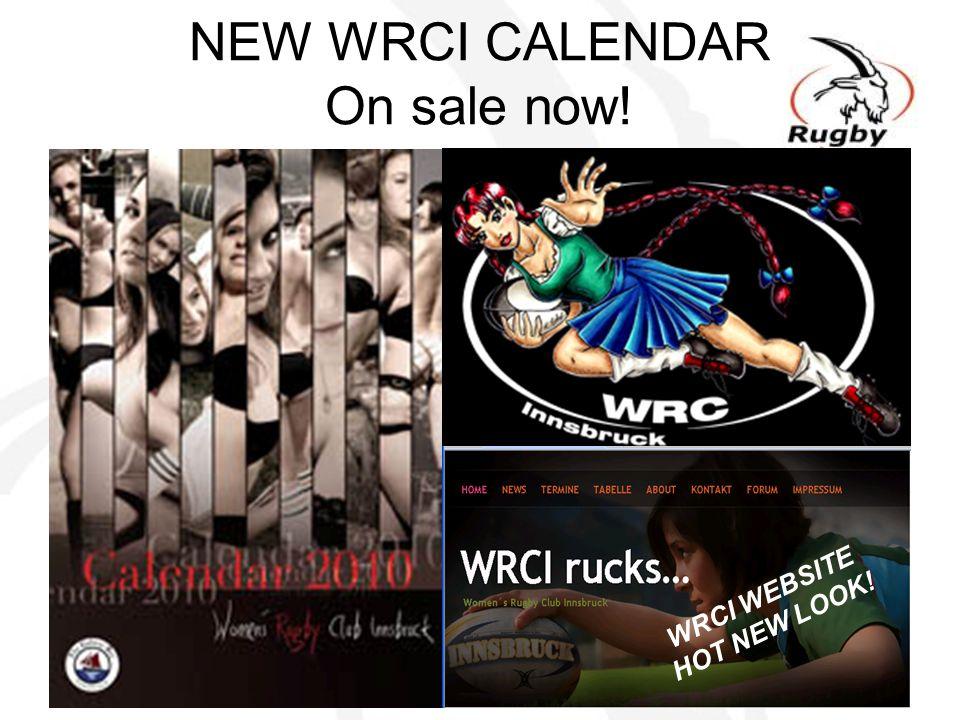 NEW WRCI CALENDAR On sale now!