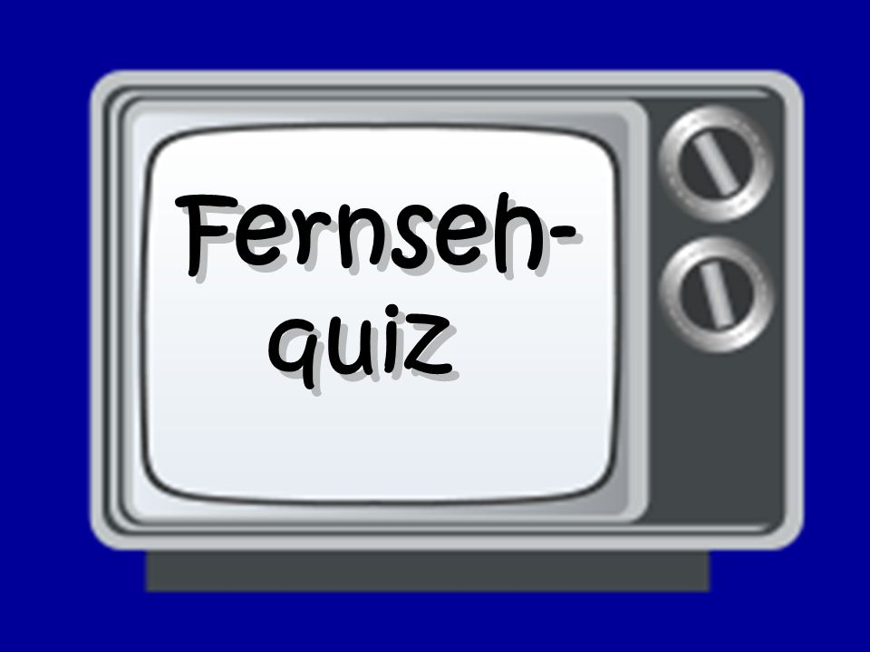 Fernseh- quiz