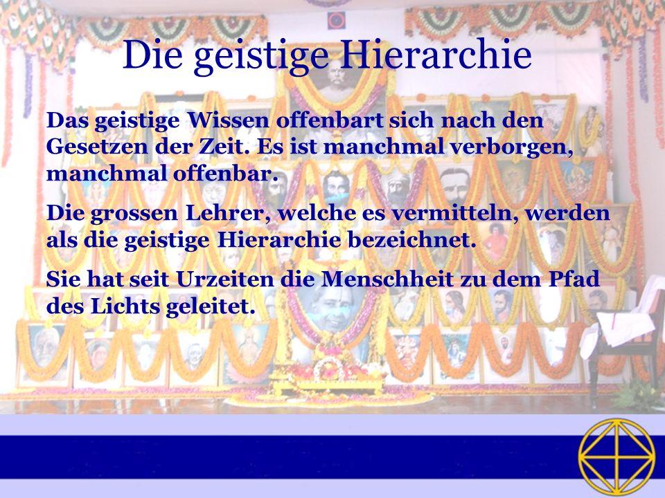 Die geistige Hierarchie