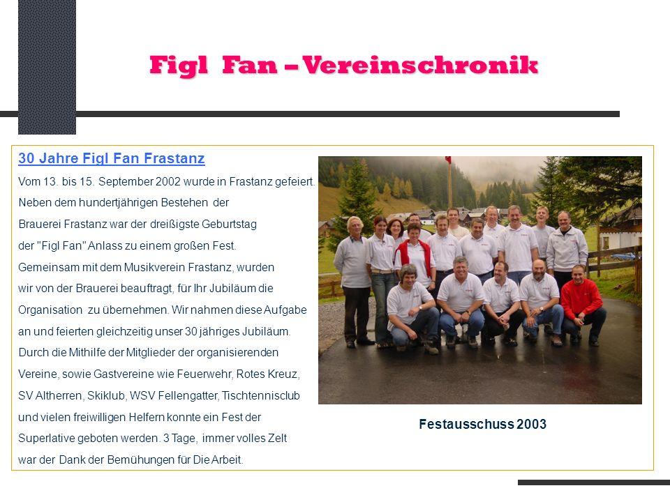 Figl Fan – Vereinschronik
