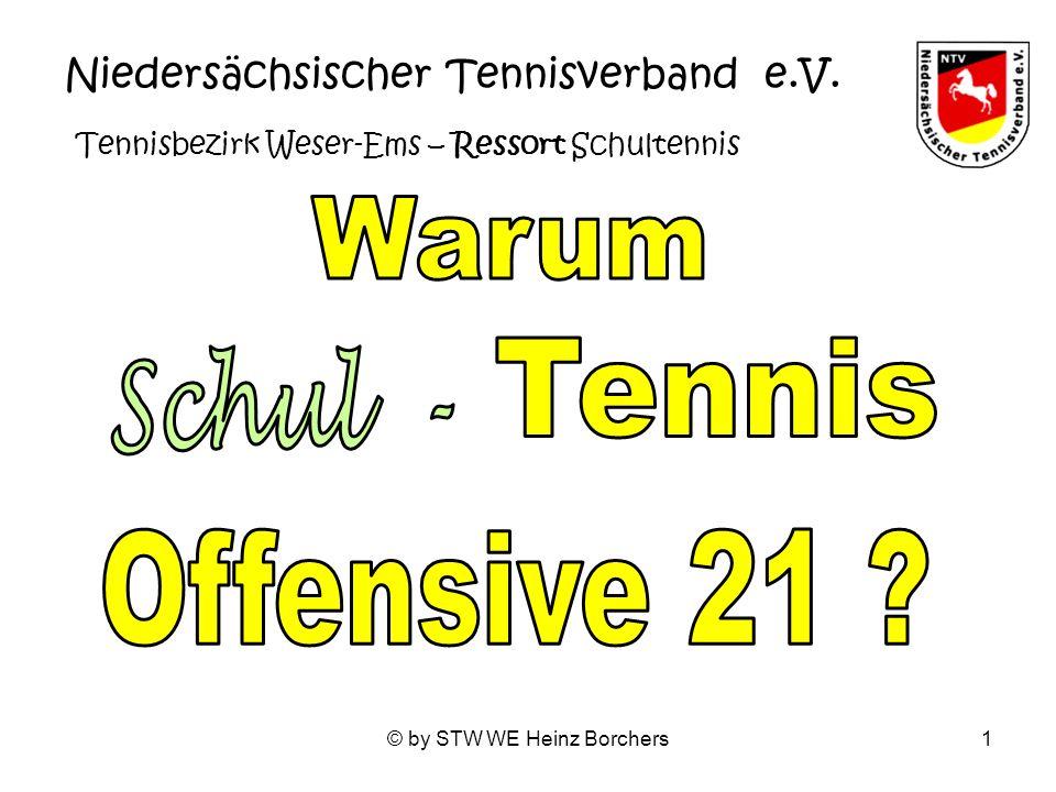 Warum Tennis Schul - Offensive 21