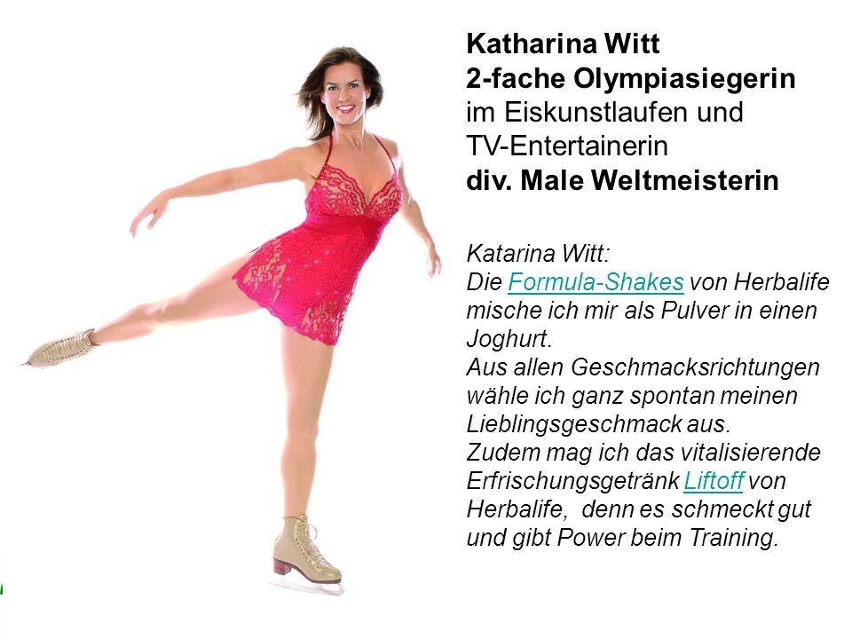 2-fache Olympiasiegerin im Eiskunstlaufen und TV-Entertainerin