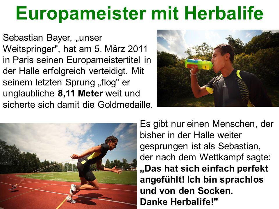 Europameister mit Herbalife