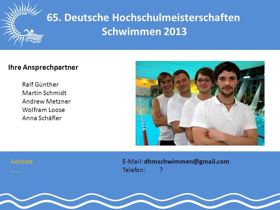 65. Deutsche Hochschulmeisterschaften
