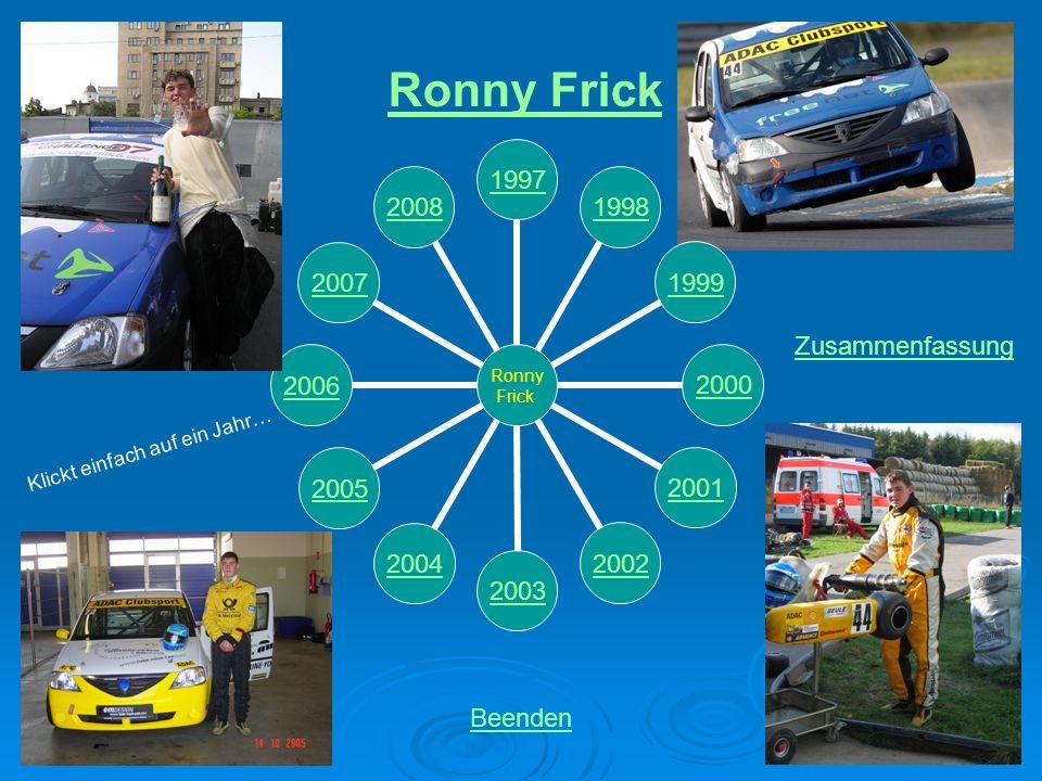 Ronny Frick Zusammenfassung Klickt einfach auf ein Jahr… Beenden