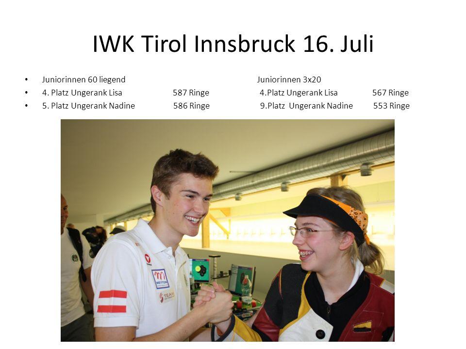 IWK Tirol Innsbruck 16. Juli