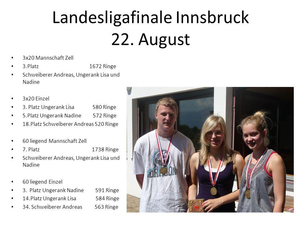 Landesligafinale Innsbruck 22. August