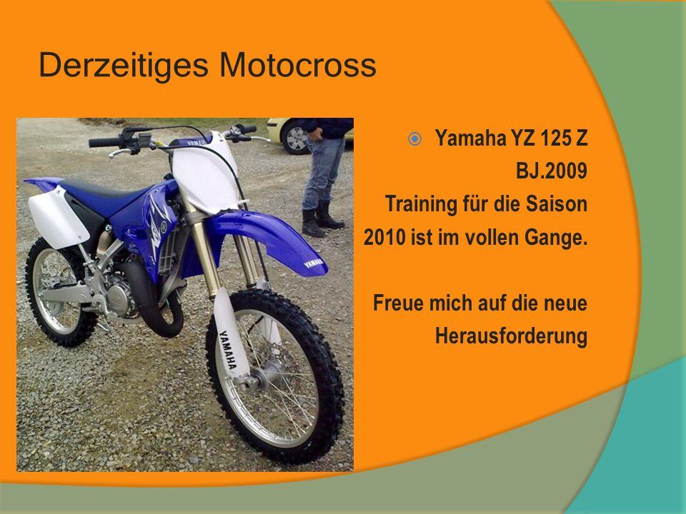 Derzeitiges Motocross