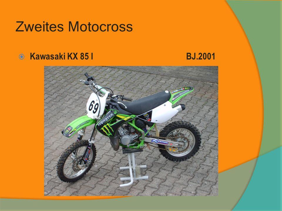 Zweites Motocross Kawasaki KX 85 I BJ.2001